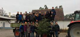 Tannenbäume für das Tierheim in Speyer