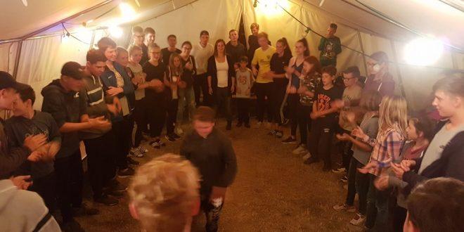 Zeltlager 2018: Tag 8 mit viel Bewegung und Bunter Abend