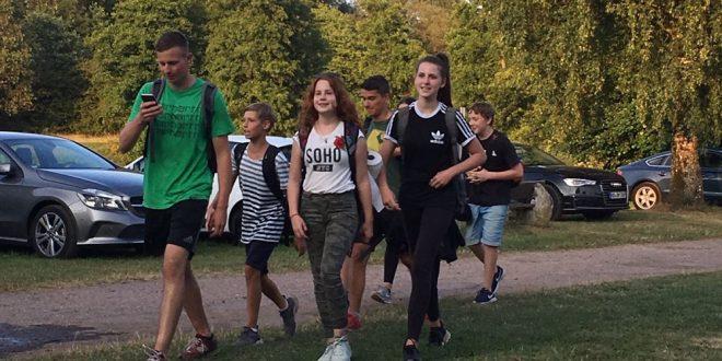 Zeltlager 2018: Tag 2 im Goldrausch / Tag 3 zum tradiotionellen Hike-Day